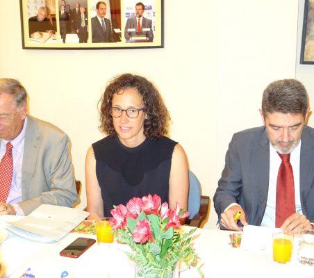 Carsten Moser, Valvanera Ulargui y Pedro Palomino