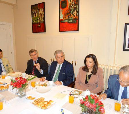 Rafael Hoyuela, Claudio Vallejo, Gonzalo Babé, María Lahore y Ángel Durández