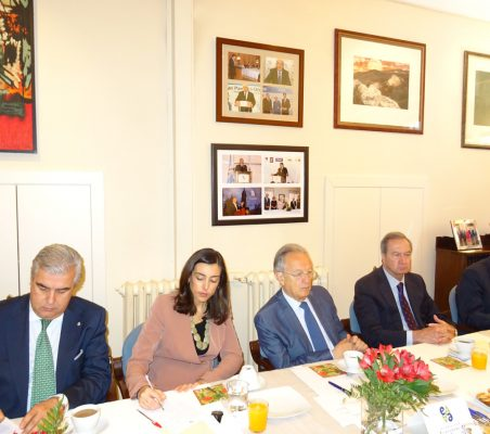 Gonzalo Babé, María Lahore, Ángel Durández, Ángel Galán y Rafael González