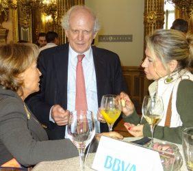Luisa Peña, Carlos Malamud e Inmaculada Rodríguez-Piñero