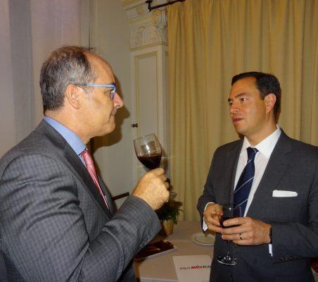 Invitados al almuerzo de Luis Videgaray