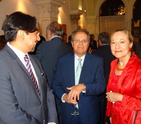 Juan Pablo de Laiglesia y Benita Ferrero-Waldner