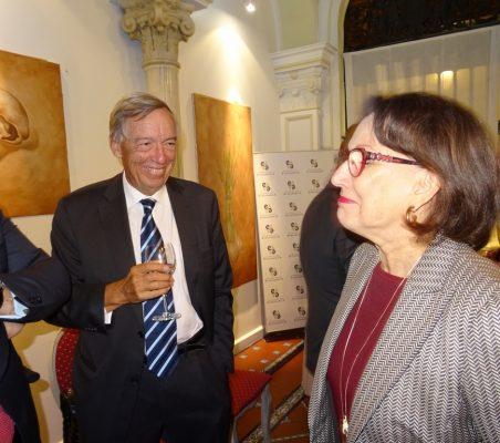 Carsten Moser y Rebeca Grynspan