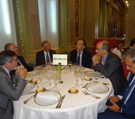 Invitados al almuerzo de Videgaray