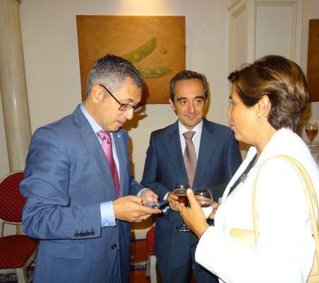 Hugo A. Morán y Ángeles Santamaría