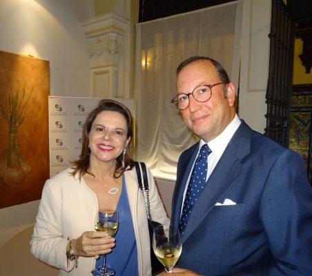 Ana Helena Chacón , Embajadora de Costa Rica y Félix Losada, Deloitte