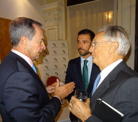Ángel Galán y Ángel Durández