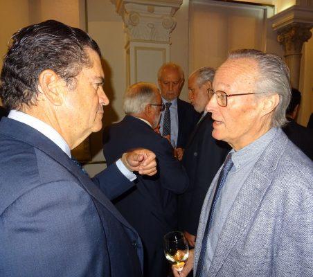 Borja Prado, Prersidente de Endesa y  Ex Ministro  Josep Piqué