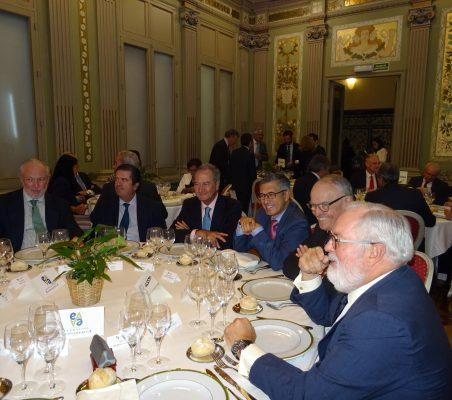 José Luis López-Schümmer, Borja Prado, Ángel Galán, Hugo A. Morán, Julián Martínez-Simancas y Miguel Arias Cañete