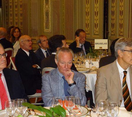 Carlos Gómez-Múgica, Josep Piqué y Fernando Ruiz