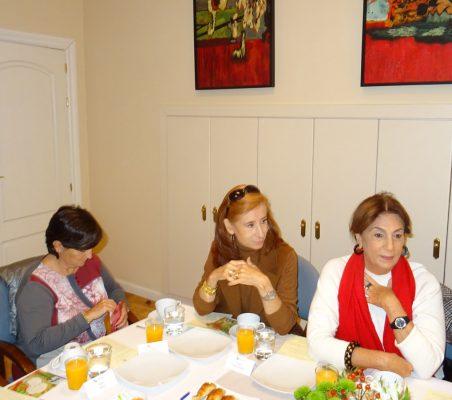 Ana Ortuño, Marta Pérez Dorao, y María Salvadora Ortiz