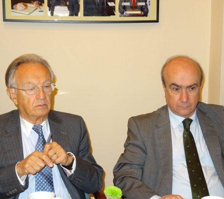 Ángel Durández y Mariano Jabonero