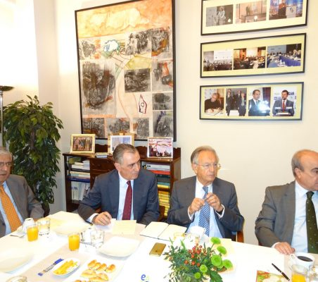 Fernando Labrada, Justo Varona, Ángel Durández y Mariano Jabonero
