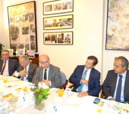 Justo Varona, Ángel Durández, Mariano Jabonero, David Tuesta y Luis Fernando Álvarez-Gascón