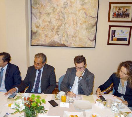 David Tuesta, Luis Fernando Álvarez-Gascón, Ander Vieira y Patricia Alfayate