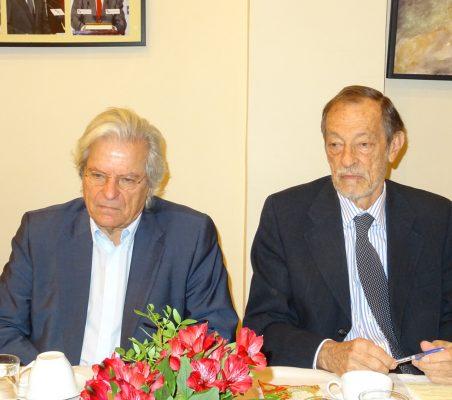 Javier Nart y Emilio Cassinello