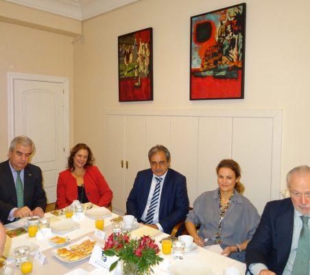 Gonzalo Babé, Berta Fuertes, Luis Fernando Álvarez-Gascón, Renata Dutra y José Luis López-Schümmer