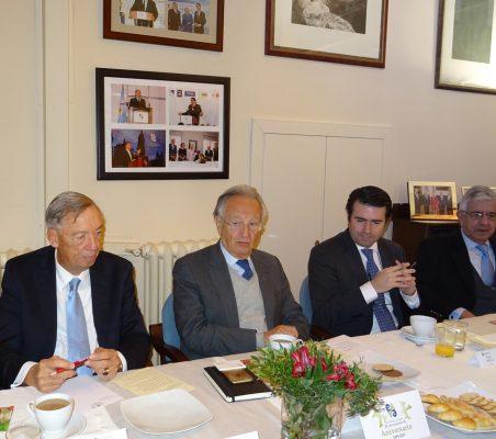 Carsten Moser, Ángel Durández, Rafael Hoyuela, Fernando Labrada