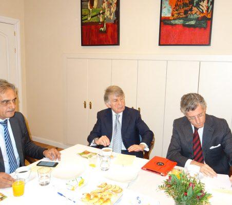 Luis Fernando Álvarez-Gascón, Ricardo Vaca y Claudio Vallejo