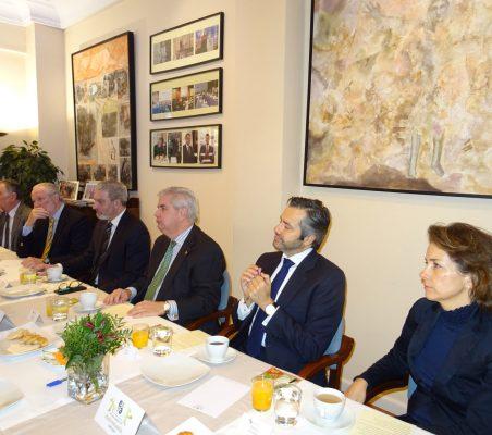 Justo Varona, José Luis López-Schümmer; Josep Ramon Bosch, Gonzalo Babé, Rafael Duarte, y Patricia Alfayate
