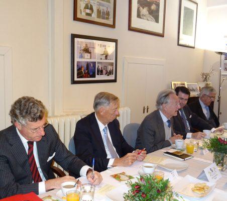 Claudio Vallejo, Carsten Moser, Ángel Durández, Rafael Hoyuela y Fernando Labrada