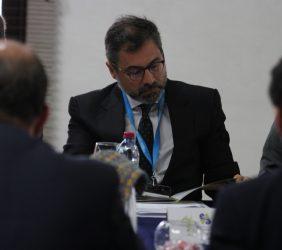 Román Blanco, representante del Banco Santander