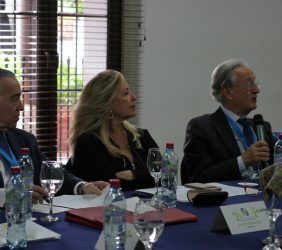 Valentín Diez Morodo, Trinidad Jiménez y Ángel Durández