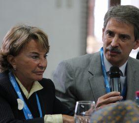 Luisa Peña y José Ignacio Salafranca