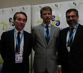 Héctor Florez, José Ignacio Salafranca y Román Blanco