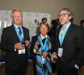 Ángel Durández, Luisa Peña y Ángel Bautista