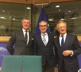 Claudio Vallejo, Ramón Jáuregui y Ángel Durández