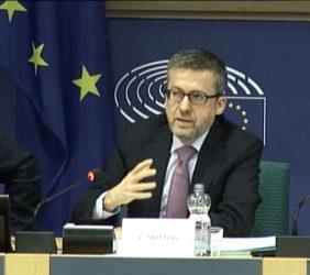 Carlos Moedas, Comisario Europeo de Investigación, Ciencia e Innovación