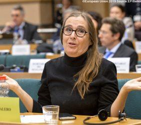 Eurodiputada Bodil Valero