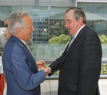Ángel Durández y Antonio Ortega
