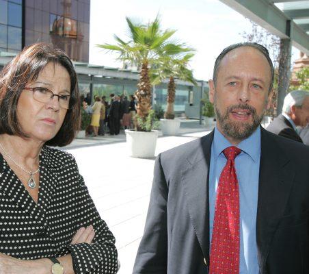 Rosa Conde y Luis Fraga