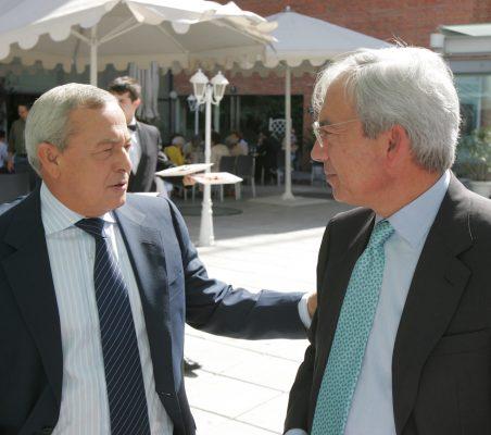 Carlos Solchaga y Pedro Pérez