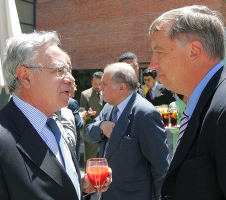 Ángel Bizcarrondo y Carsten Moser