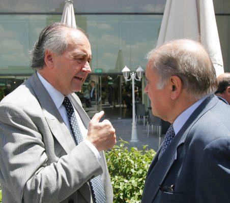 Miguel Vergara y Enrique Iglesias
