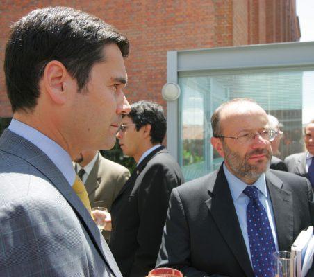 José María Sanz Magallón y Fernando García Casas