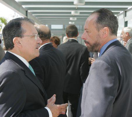 Jorge Salaverry y Luis Fraga