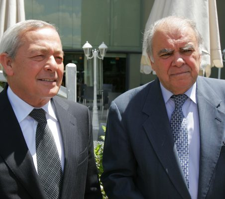 Carlos Solchaga e Enrique Igleisas