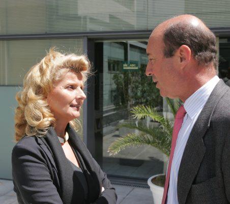 Isabel Tocino y Miguel Iraburu