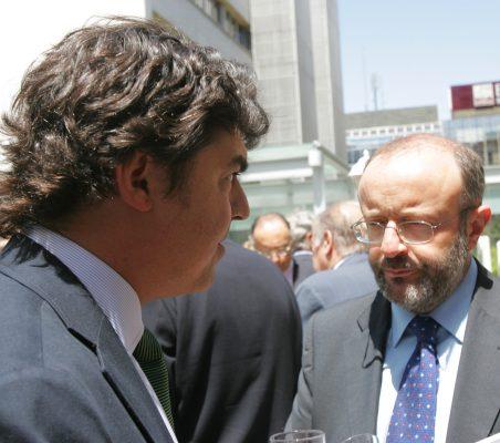 Jorge Moragas y Fernando García Casas