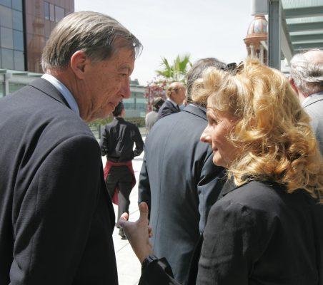 Carsten Moser e Isabel Tocino