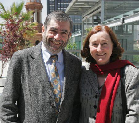 Antonio Muñoz Molina y Petra Mateos