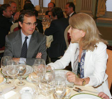 Joaquín de la Herrán y Pilar Tena