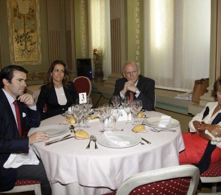 Rafael Hoyuela, Patricia Alfayate, Carlos Malamud y Luisa Peña