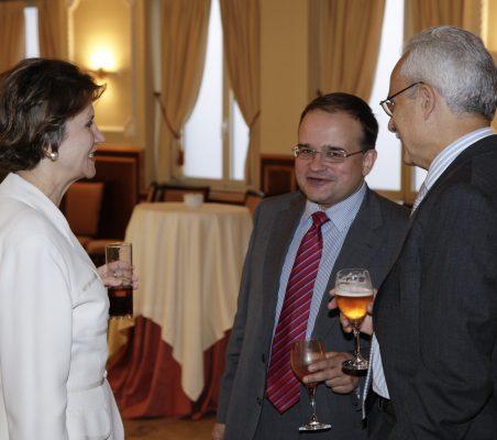 Asunción Valdés, Carlos Álvarez y José Eladio Seco
