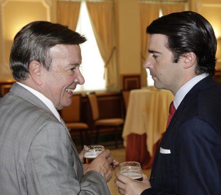 Eusebio Serrano y Rafael Hoyuela