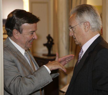 Eusebio Serrano, y Ángel Durández
